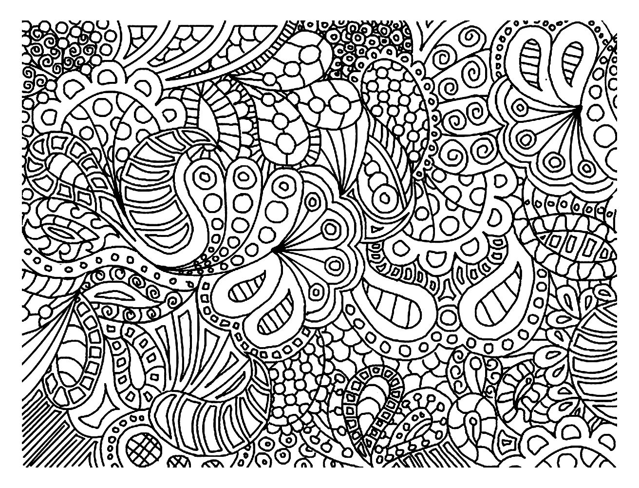 All And Every Doodling Tips Ava360 Doodle Coloring Pages 2