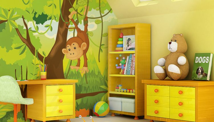 Exceptional Paint By Number Wall Murals For Kids Rooms